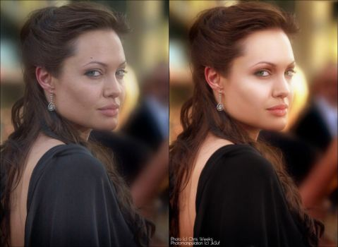 Angelina Jolie Photomanip by JkSuf