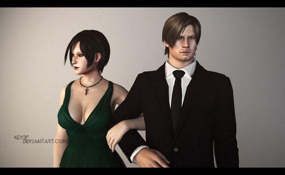 Ada and Leon by Keyre