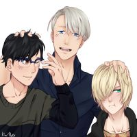 Yuri!! On Ice by Kimi-Note