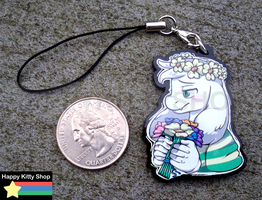 Child Asriel Charm by HappyKittyPlushies