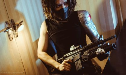 Winter Soldier by 35ryo