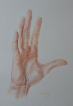Tom's Hand 31 'Explanation' by Andromaque78