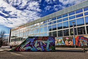 Lobeda Skatepark - HDR by EOSthusiast