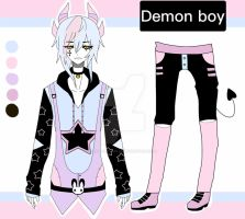 pastel goth demon boy CLOSED by AS-Adoptables