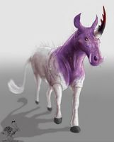 The Ugly Unicorn by TheVerdantHare