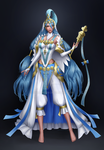 Commission - Azura ( Fire Emblem Fates ) by VivianMeow