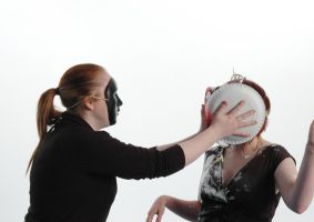The masked pie thrower by memersonphotographic