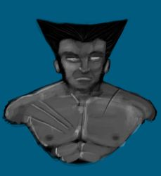 Bust: Wolverine by frogman354