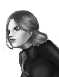 Greyscale Speedpaint Exercise by its-kaira