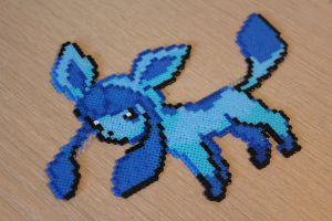 Hama Glaceon Sprite by Retr8bit