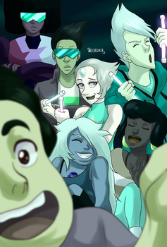 Selfie with the cool kids by NeoRuki