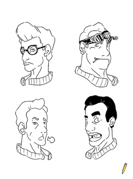 Ghostbusters by NicoSartworks