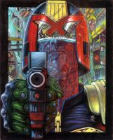 Judge Dredd - You Had Your Chance Creep by adeh20