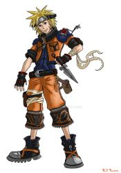 Kingdom Hearts-Naruto Colors by arvalis