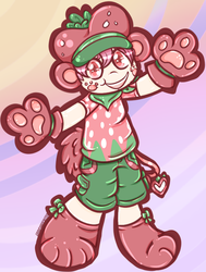 Cutest Beary In The Patch by graveyardcritter