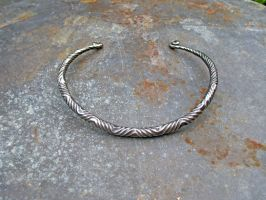 Tapered Hexbar Torc by ou8nrtist2