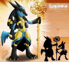 Lupinra- Lucario fan evolution concept