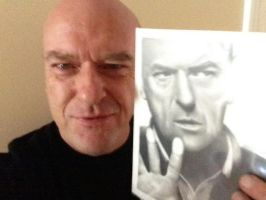 Dean Norris BREAKING BAD by Doctor-Pencil