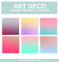 Art Deco   Gradient Textures by Burn-the-life
