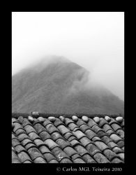 Rooftops of Sao Jorge by Starkhyel