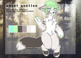 furry adopt auction [SOLD] by xNaokii