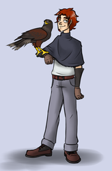 Henry the Falconer by Nightmarecookie2