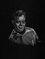 Captain Kirk by astomious