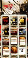300 Sony Ericsson Theme by AzizNatour