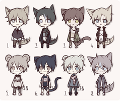 Set Price Adopts 7 [CLOSED] by xacen