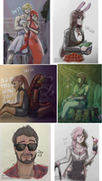RWBYAC - Days 19 to 24 by samanthacannon