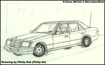 Student Philip and His Benz by sojh85