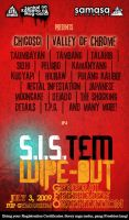 S.I.S.tem wipe-out poster by Chili-icecream