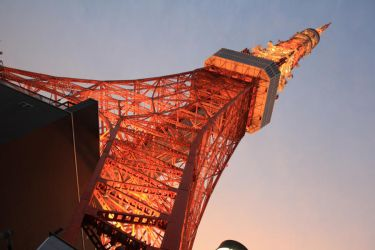 Tokyo Tower at Sunset by unikorn