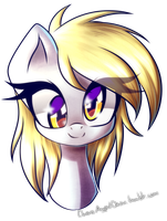 Derpy portrait by ChaosAngelDesu
