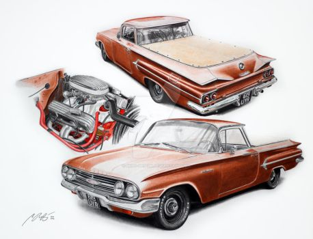 1960 Elcamino 327 by Mipo-Design
