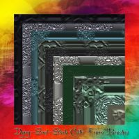 Celtic Frame PS7 Brushes by dying-soul-stock