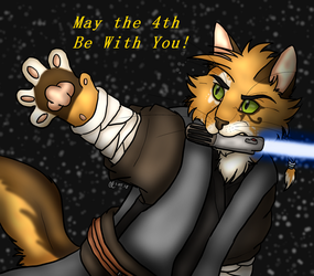 May the 4th be with you by Sinbadghost