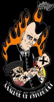 Staight Edge Psychobilly by ZMBGraphics