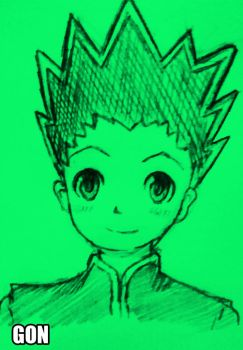 Gon Green by cryzuz