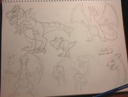 Day Team: sketches by MightyRaptor