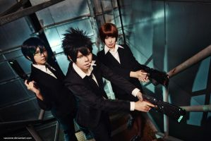 Psycho-Pass - Iron Heart by vaxzone