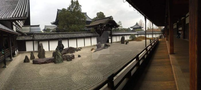 Peaceful Zen Rock Garden by Muse-4-Life