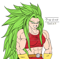Dragon Ball Z: Super Chikara no Taikai - Kale God by Vebills