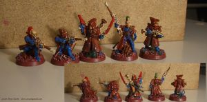 Eldar Pathfinders - Red Rock by NPlusPlus