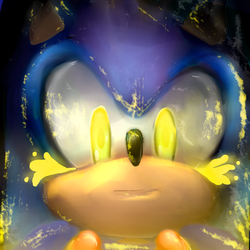 sonic TMOM fan art (100th art post somehow) by chikosanXD
