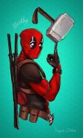 DeadPool by GMA-SDT-P-J-C-A-V-8