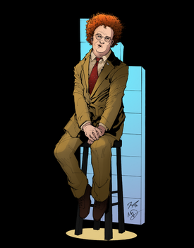 Check It Out! Steve Brule Colour Warm-Up by MagnumImago