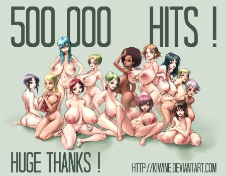HALF a MILLION Hits by kiwine