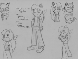 Bored Doodle - Amy Rose Redesign Concept by ADHedgehog