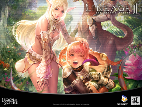 Lineage 2 Loading Screen by RyuuketsuEG